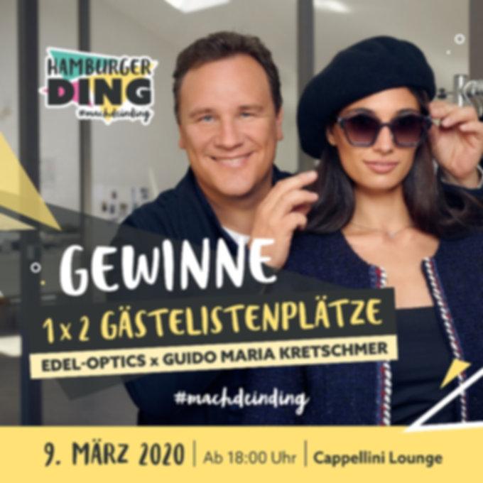 Triff Guido Maria Kretschmer im Hamburger Ding