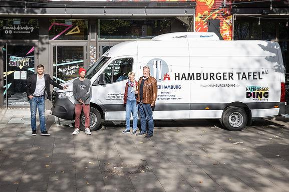 Ein neuer Transporter für die Hamburger Tafel