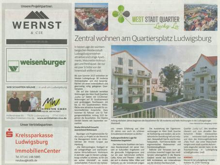 Das West Stadt Quartier in der Kreiszeitung