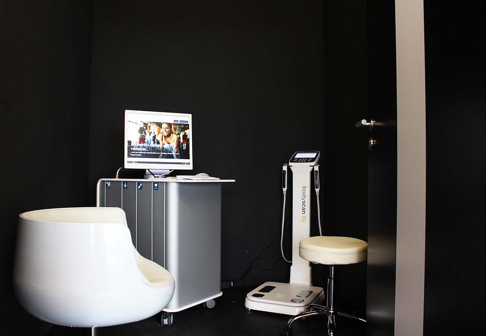 Fitnesslevel checken mit den Geräten von cardioscan im Hamburger Ding, dem coolsten Coworking Space auf dem Kiez