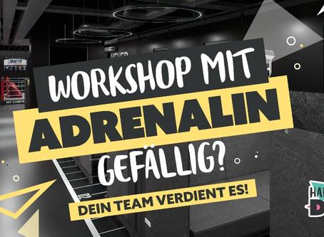 Buche deinen Workshop mit Adrenalin!