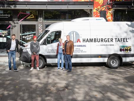 Ein Hamburger Ding für die Flotte der Hamburger Tafel