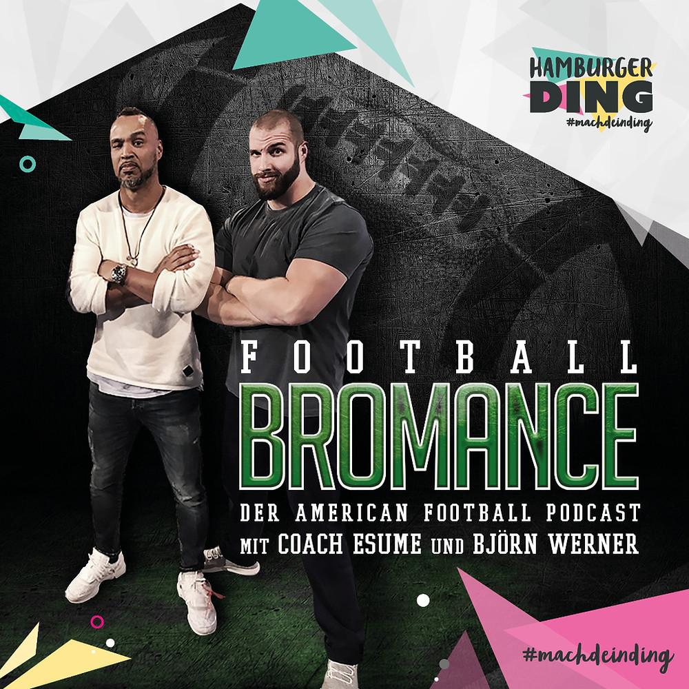 Football Bromance im Hamburger Ding: der American Football Podcast live im Hamburger Ding!
