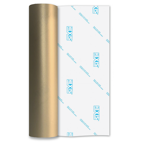 Gold Etch Self Adhesive Vinyl