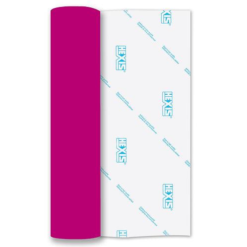 Neon Pink Heat Transfer Flock 250mm Wide x 500mm Long