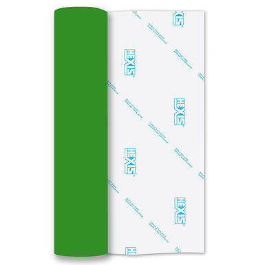 Green Chrome Heat Transfer Flex 305mm Wide x 500mm Long