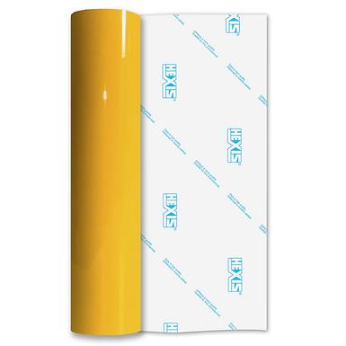 Daffodil Yellow Economy Permanent Gloss Self Adhesive Vinyl