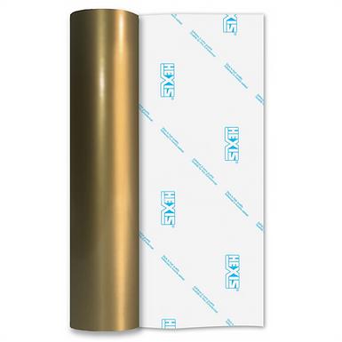Gold Premium Permanent Gloss Self Adhesive Vinyl