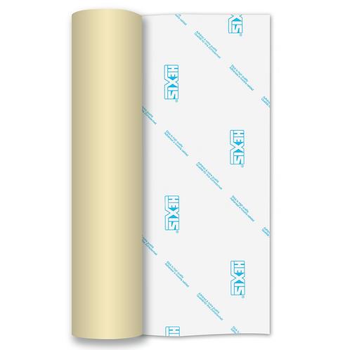 Beige Heat Transfer Flex 250mm Wide x 500mm Long
