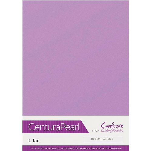 Lilac - Centura Pearl Card Crafter's Companion
