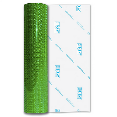Green Mosaic Gloss Self Adhesive Vinyl