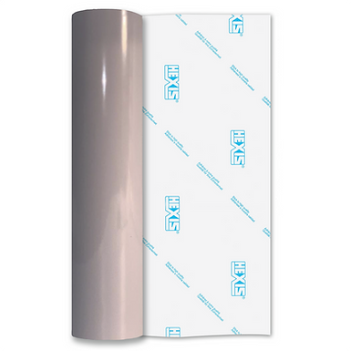 Clay Grey Premium Permanent Gloss Self Adhesive Vinyl