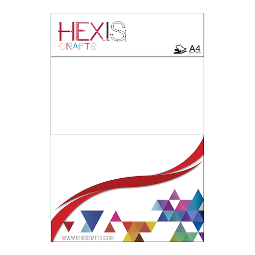 White 3D Block Heat Transfer Flex Sheets x 6