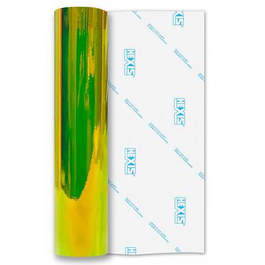 Opal Dayglo Green Gloss Self Adhesive Vinyl