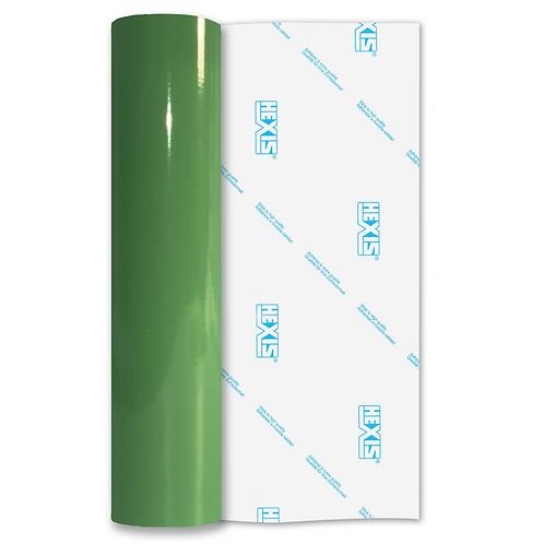 Fern Green Premium Permanent Gloss Self Adhesive Vinyl