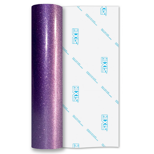 Ultra Glitter Purple Gloss Self Adhesive Vinyl