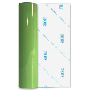 Light Green Premium Permanent Gloss Self Adhesive Vinyl