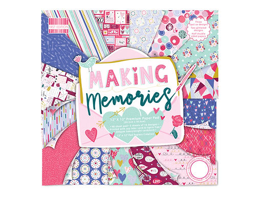 "12"" x 12"" Making Memories Paper Pad"