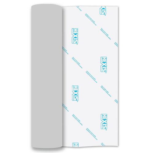 Silver Chrome Heat Transfer Flex 250mm Wide x 500mm Long