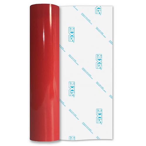 Fire Red Premium Permanent Gloss Self Adhesive Vinyl