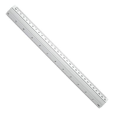 50cm Metal Ruler With CM Measurements