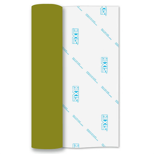 Olive Gloss Premium Self Adhesive Vinyl Roll 305mm x 5m