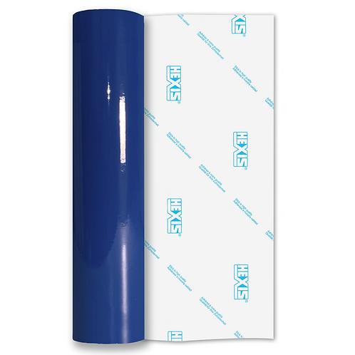 Curacao Blue Standard Permanent Gloss Self Adhesive Vinyl