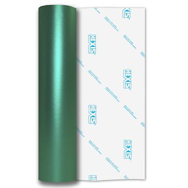 Teal Shimmer Metal Satin Self Adhesive Vinyl