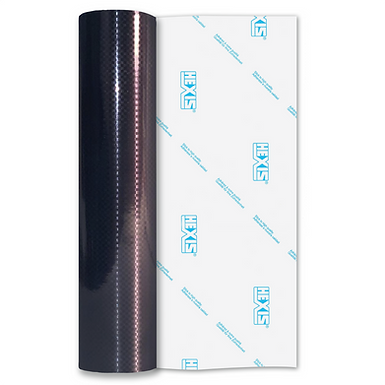 Gun Metal Carbon Fibre Self Adhesive Vinyl