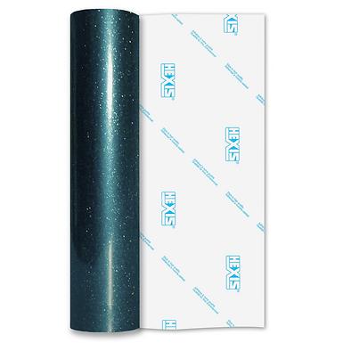 Ultra Glitter FX Teal Gloss Self Adhesive Vinyl
