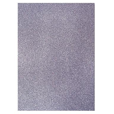 A4 Glitter Card Charcoal