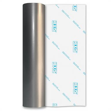 Silver Premium Permanent Gloss Self Adhesive Vinyl