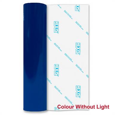 Blue Reflective Permanent Gloss Self Adhesive Vinyl