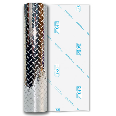 Silver Kick Plate Mini Self Adhesive Vinyl
