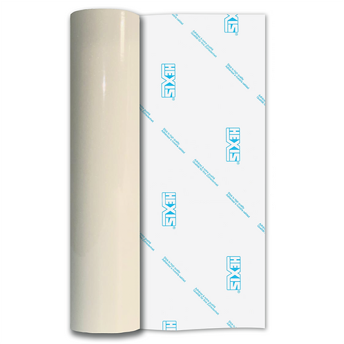 White Gold Sparkle HEX'Press Gloss Self Adhesive Vinyl