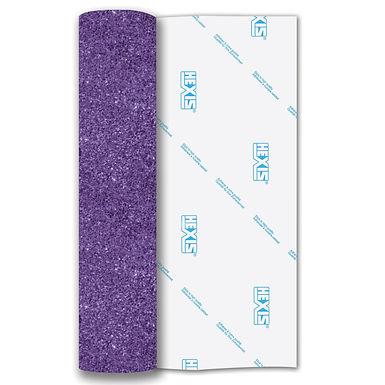 Lavender Glitter Heat Transfer Flex 305mm Wide x 500mm Long