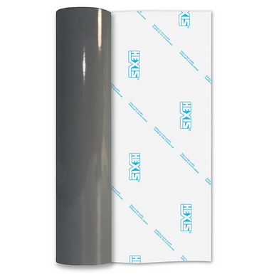 Mouse Grey Premium Permanent Gloss Self Adhesive Vinyl