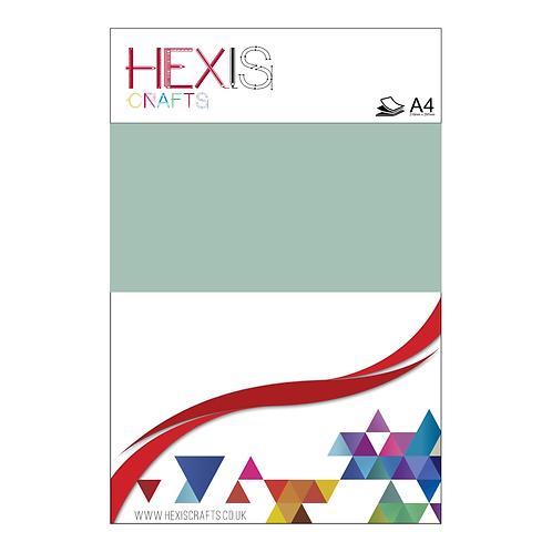 Aqua Green Gloss Premium Self Adhesive Sheets x 4