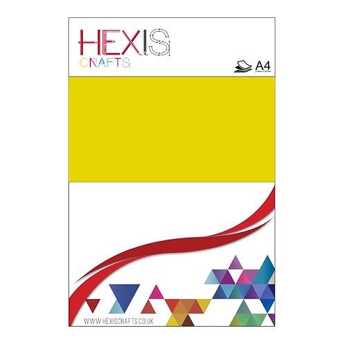 Yellow Paint Heat Transfer Flex Sheet