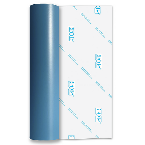 Soft Blue Standard Removable Matt Self Adhesive Vinyl