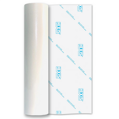 Ultra Glitter White Gloss Self Adhesive Vinyl