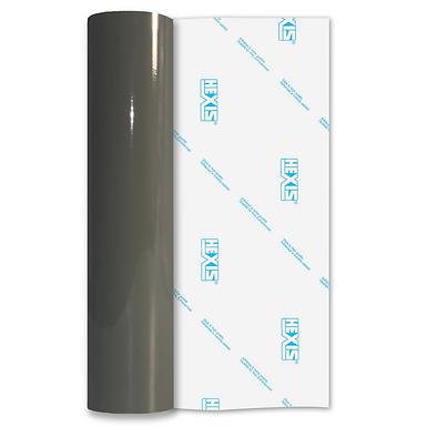 Medium Grey Economy Permanent Gloss Self Adhesive Vinyl