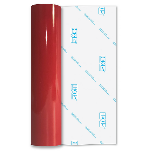 Ember Red Premium Permanent Gloss Self Adhesive Vinyl