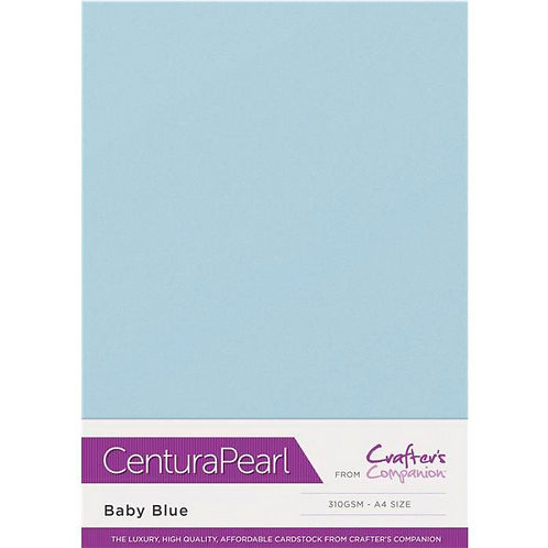 Baby Blue - Centura Pearl Card Crafter's Companion