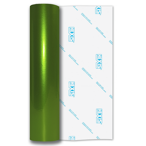 Green Shimmer Metal Gloss Self Adhesive Vinyl