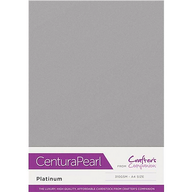 Platinum - Centura Pearl Card Crafter's Companion