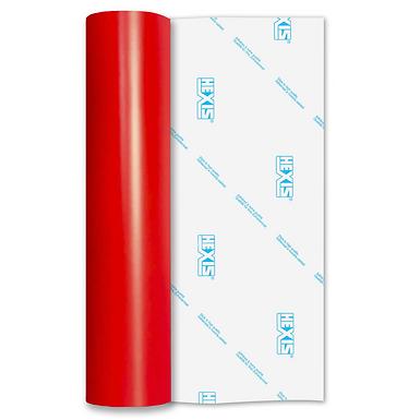 Red Embers Standard Permanent Matt Self Adhesive Vinyl