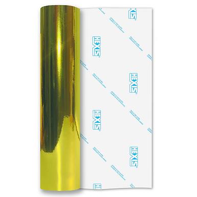 Yellow Mirror Chrome Self Adhesive Vinyl