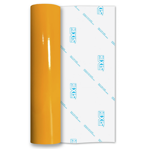 Daffodil Yellow Standard Permanent Gloss Self Adhesive Vinyl