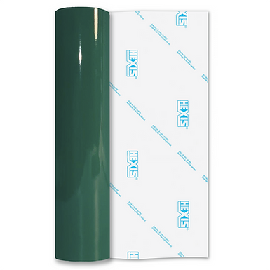 Emerald Green Premium Permanent Gloss Self Adhesive Vinyl